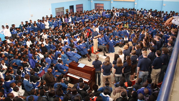 Send Chapel Choir Students to South Africa Image