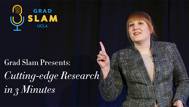 Grad Slam Presents: Cutting Edge Research in 3-minutes Image
