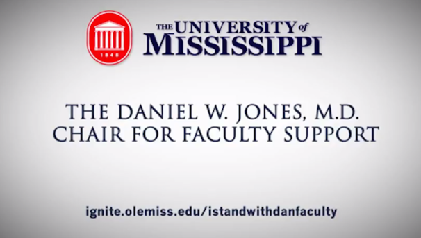 Daniel W. Jones, M.D. Chair for Faculty Support - Faculty Image
