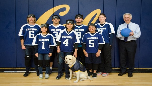 Cal Goalball Team (First College Team for Blind Students) Image