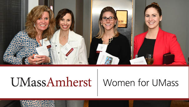 Women for UMass Spring Event Matching Grant Challenge Image
