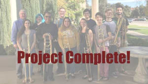 Send our trombone students to International Trombone Festival!