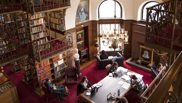 Cornell University Bring Light To A D White Library
