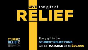 Student Relief Fund $20,000 December Match