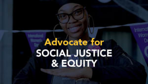 Advocate for Social Justice & Equity Project