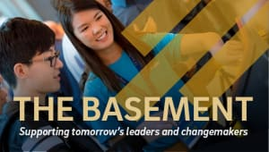 The Basement: Support our Students - The Leaders of Tomorrow