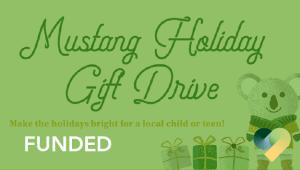 Mustang Holiday Gift Drive