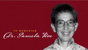 Dr. Pamela Roe Lecture Hall Naming