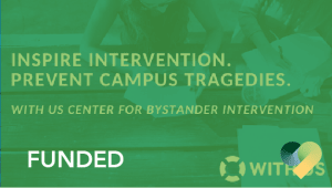 Support the WITH US Center for Bystander Intervention at Cal Poly
