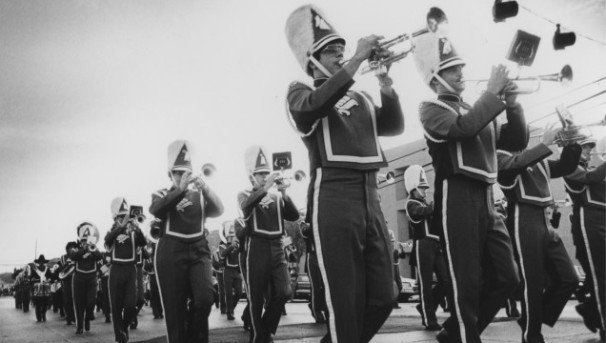 UNT Green Brigade Marching Band Image