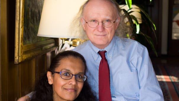 Kevin & Indira Champions of Undergrads Image