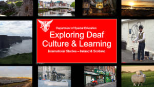 Deaf Culture and Learning - International Studies