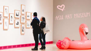 For the love of art, will you be our Valentine?