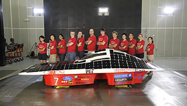MIT Solar Electric Vehicle Team Road to Australia Image
