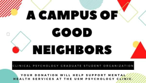A Campus of Good Neighbors