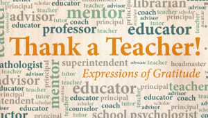 Coming soon: May is Teacher Appreciation Month