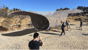 CARAPACE PAVILION in Joshua Tree National Park