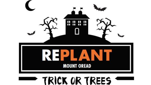 "Replant Mt Oread ""Trick or Trees:"" Campanile Crabapples Image"