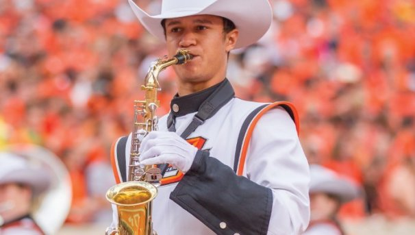 Help the Cowboy Marching Band Image