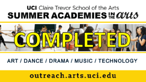 Summer Academies in the Arts Scholarship Drive
