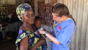 Nursing Students Give Back in Ghana 2020