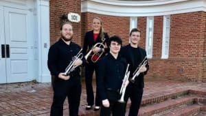 Trumpet Ensemble traveled to the National Trumpet Competition