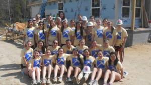 UMass Habitat for Humanity Spring Break Service Trip