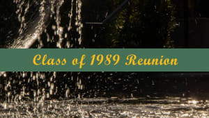 Class of 1989 Reunion Giving