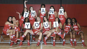 Sacred Heart University Women's Basketball Agonizetai for Greece!
