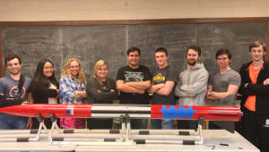 "NASA USLI Competition, ""Project Hawkeye"""