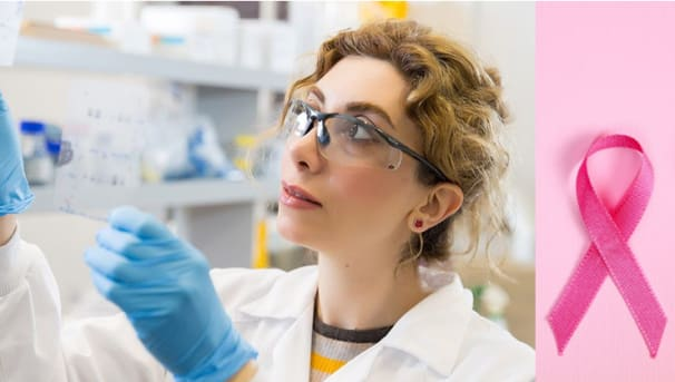 Dr Pegah Varamini's Breast Cancer Research Image