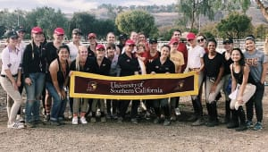 Sending the Equestrian Team at USC to post-season competitions!