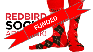 Rock your Redbird Socks!