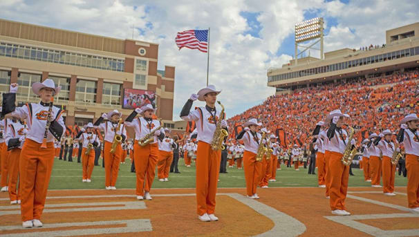 Help the Cowboy Marching Band Keep Their Sound Image