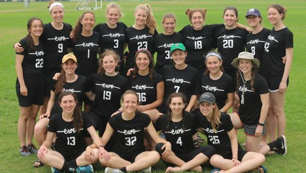 Tufts Women's Ultimate Trip to Nationals Image