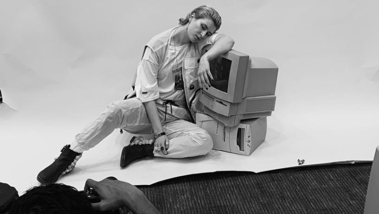 Behind the scenes of shooting for Issue 28, Human Connection