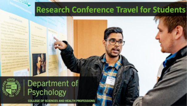 Research Conference Travel For Students 2019 Image