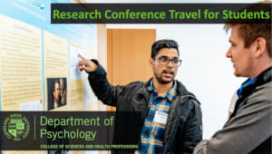 Research Conference Travel for Students