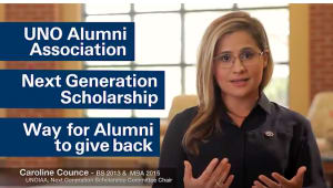 UNO Alumni Association Next Generation Scholarship