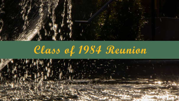 Class of 1984 Reunion Giving Image