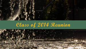 Class of 2014 Reunion Giving