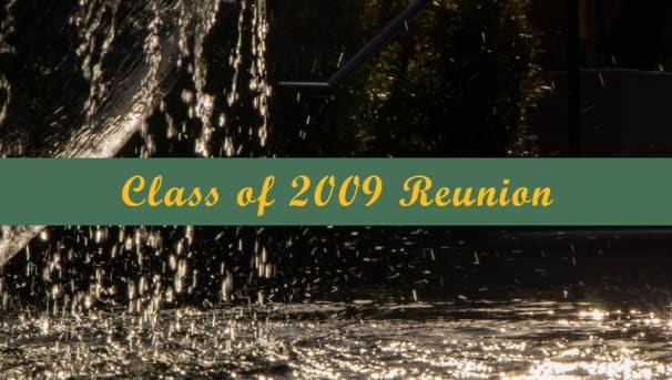 Class of 2009 Reunion Giving Image