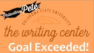 Help Fund the Writing Center at Conferences and W/Outreach