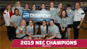 SHU Bowling wins 4th NEC Championship!