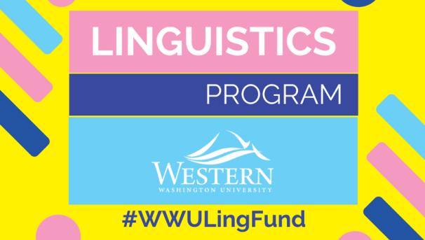 Linguistics Fundraiser Image
