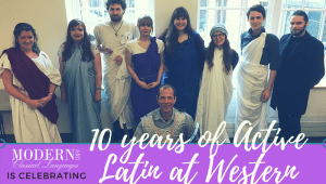 CELEBRATING THE TENTH ANNIVERSARY OF WESTERN'S ACTIVE LATIN PROGRAM