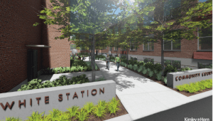 White Station Courtyard Phase 2 Brick Campaign