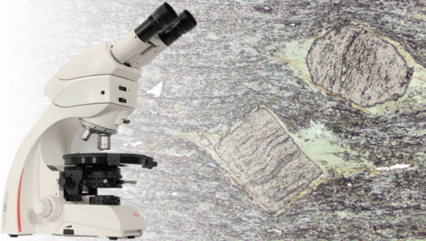 Geology Microscope Fundraiser Image