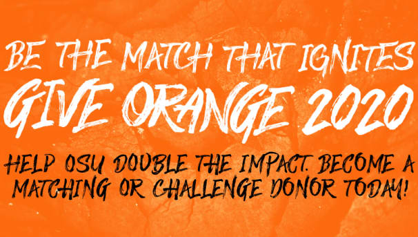 Make Your Give Orange Challenge Gift Today Image