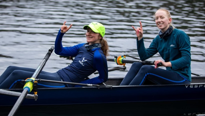 Ella and Kristina: Row Viks!